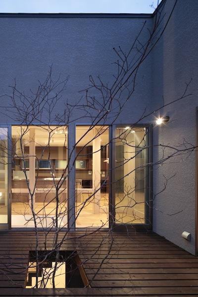 家事となかよしになるいえの写真 ウッドバルコニーからの眺め