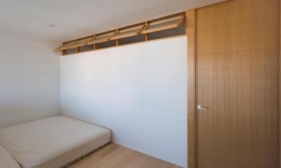 風が通り抜けるマンションリノベーション|吹き流しの家
