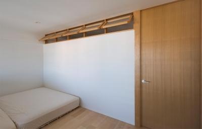 風が通り抜けるマンションリノベーション (吹き流しの家)