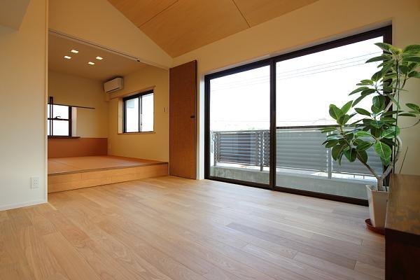 山王の住居(改装)の部屋 リビング