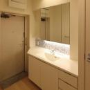 山王の住居(改装)の写真 洗面室