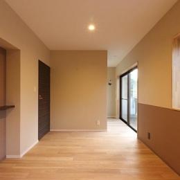 山王の住居(改装) (ウォークインクロゼットのある寝室)