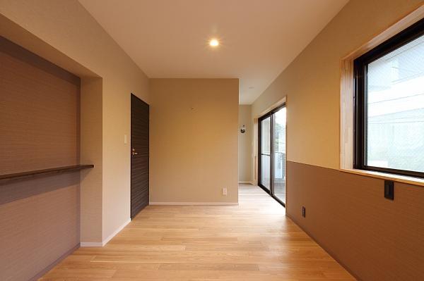 山王の住居(改装)の部屋 ウォークインクロゼットのある寝室