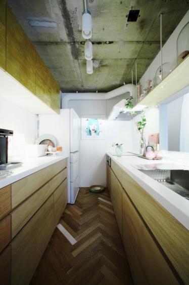「あなたらしく。ファッションのように」F邸の部屋 スッキリとしたキッチン