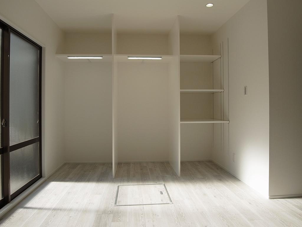 横浜市保土ヶ谷区A様の家の部屋 使い勝手の良い収納スペース