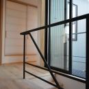 埼玉県北鴻巣の家の写真 手すり