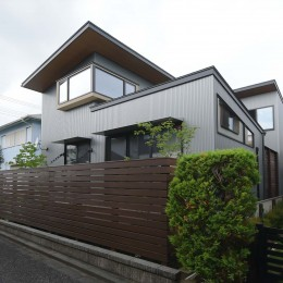 埼玉県北鴻巣の家 (外観)