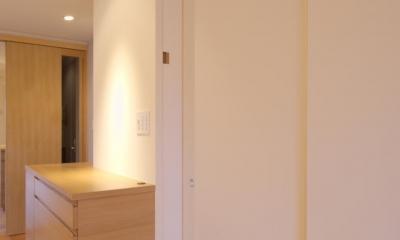 千葉県船橋市Oさんの家 (和室を間仕切る襖)