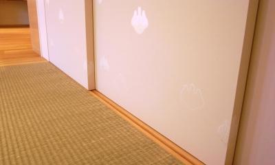千葉県船橋市Oさんの家 (太鼓張りの襖)