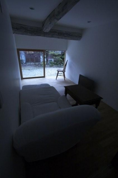 開放的な書斎 (古民家再生|久田邸)
