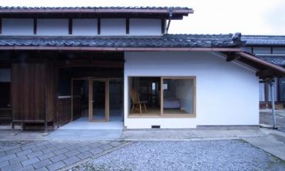 古民家再生|久田邸 (築80年の古民家を神秘性を残しながらリノベーションした外観)