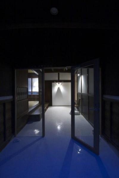 古民家再生|久田邸 (上がり框のある玄関)