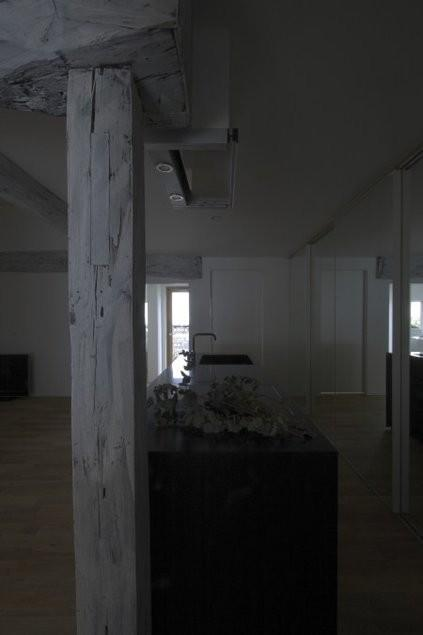 古民家再生|久田邸の写真 存在感のある古い柱