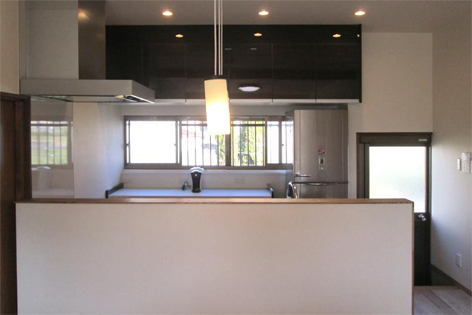 Re design KMの部屋 明るいキッチン
