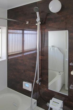 Re design KMの部屋 モダンなバスルーム