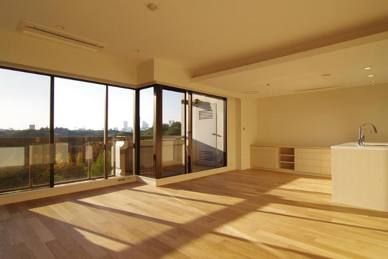 建築家:有限会社スタイル イズ スティルリビング「都心の森を臨む ビンテージマンションリフォーム」