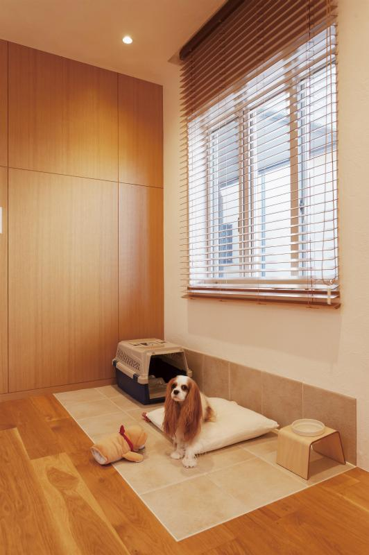 wanも楽しいリフォーム2の部屋 掃除がしやすいWANスペース