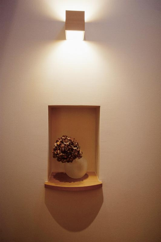 wanも楽しいリフォーム2の部屋 玄関の飾り棚