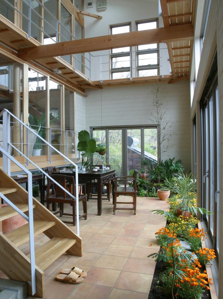 ガーデナー建築家/勝田無一「室内温室が楽しい!!土間テラスのある家」