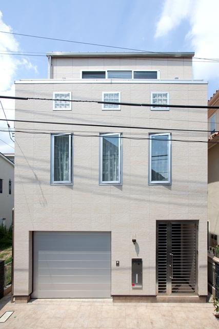 白金台の家 (外観)