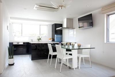 白金台の家 (キッチン)