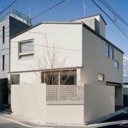 長崎の家 (スクエアな外観)