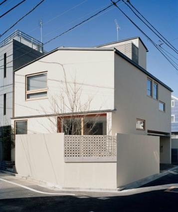 長崎の家の部屋 スクエアな外観