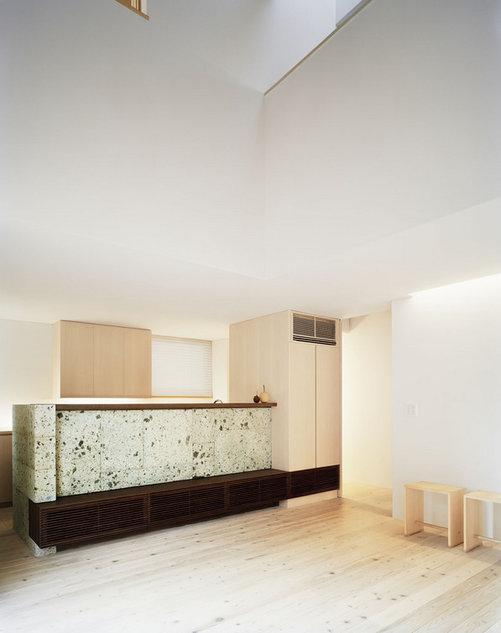 長崎の家の部屋 個性的なキッチン
