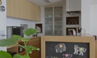 船橋 N HOUSE (黒板のある楽しいキッチン)
