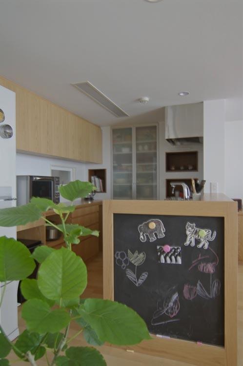 船橋 N HOUSEの部屋 黒板のある楽しいキッチン