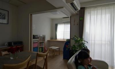 船橋 N HOUSE (ダイニングとの続きにある子供部屋)