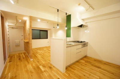 minimum enjoy 〜小さな空間で楽しくくらす〜 (キッチン)
