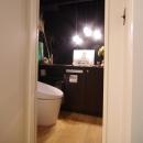 様々な工夫が凝らされたトイレ