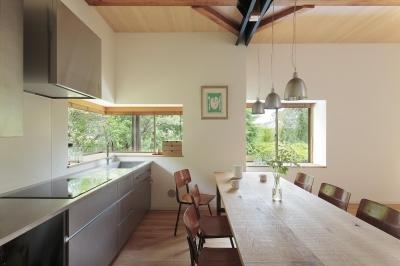 キッチン (湯河原の別荘)
