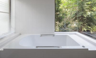 湯河原の別荘 (浴室)