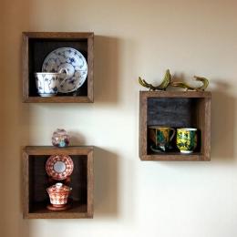 マンションリフォーム 千葉(千葉 習志野) (壁に埋め込まれた飾り棚)