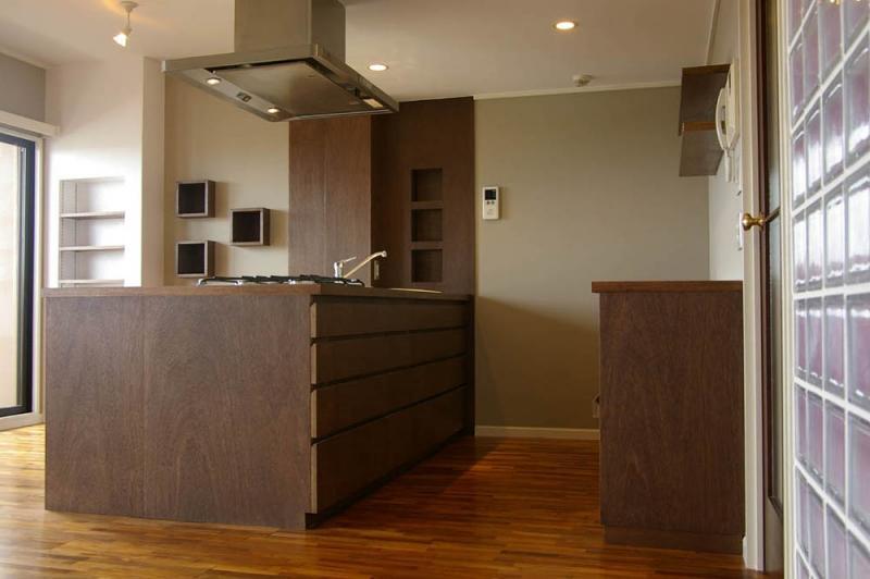 マンションリフォーム 千葉(千葉 習志野)の部屋 オリジナルキッチン