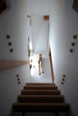 大和町の家 (シンプルな階段)