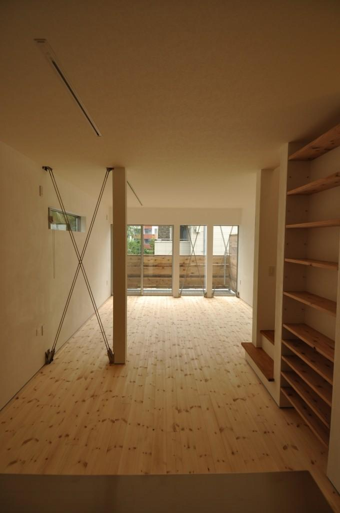 都市型狭小住居の部屋 リビング・ダイニング