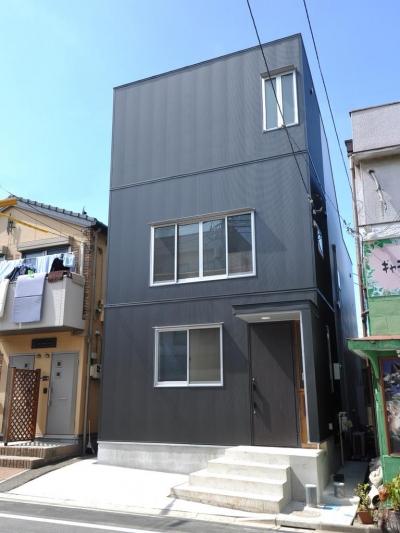 家事室を持つ家 (外観)