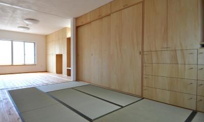 和室|家事室を持つ家
