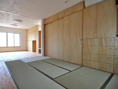 和室 (家事室を持つ家)