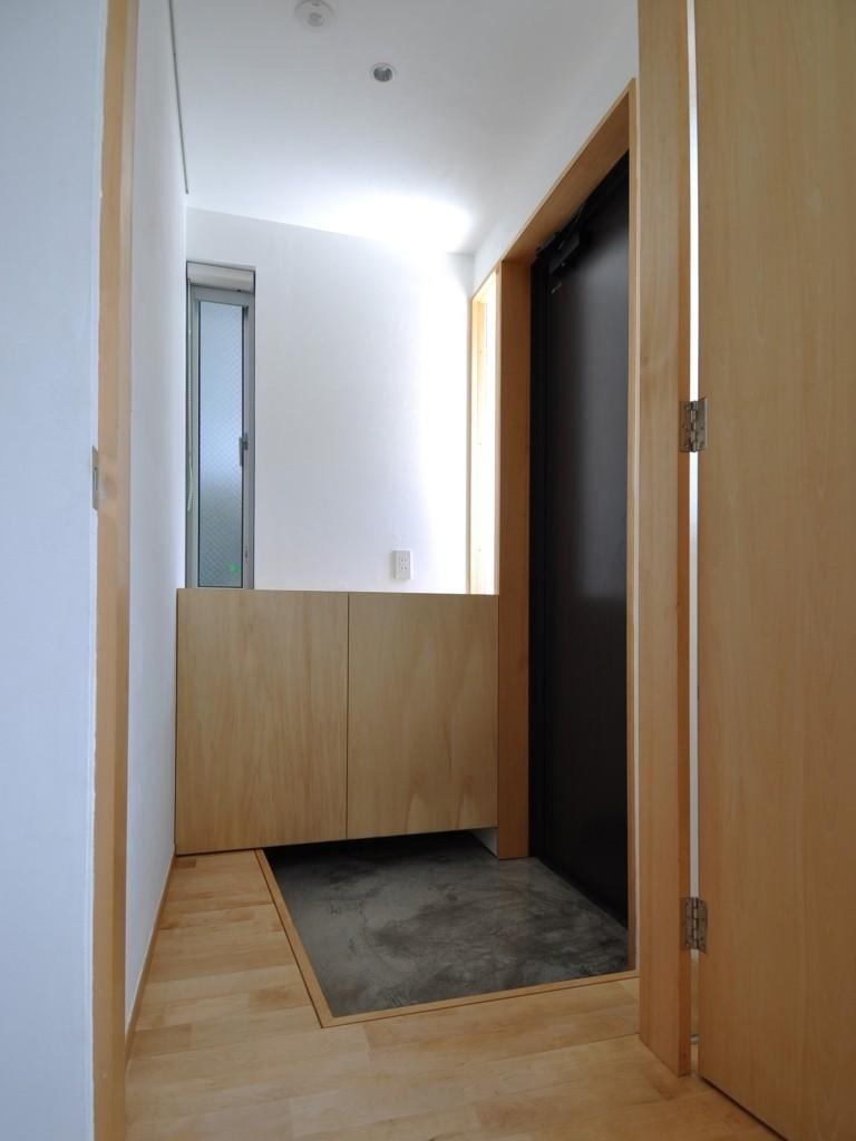 家事室を持つ家の部屋 エントランスホール