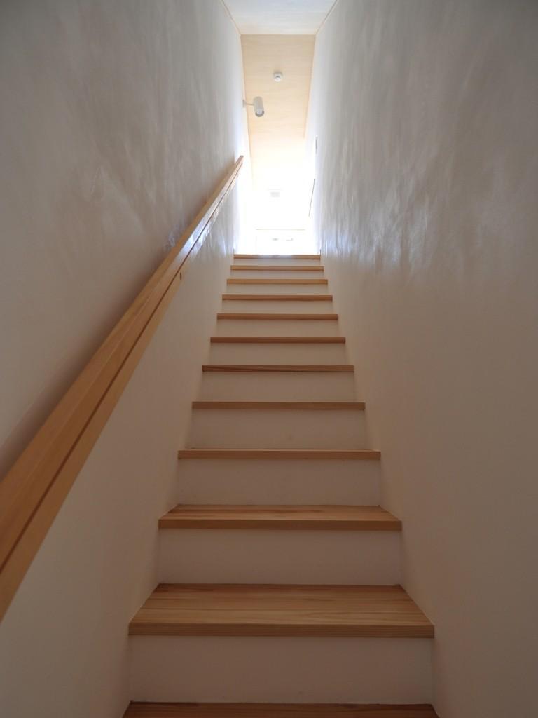 家事室を持つ家の部屋 階段室