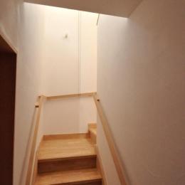 バリアフリー3世帯住居 (1.25坪階段)