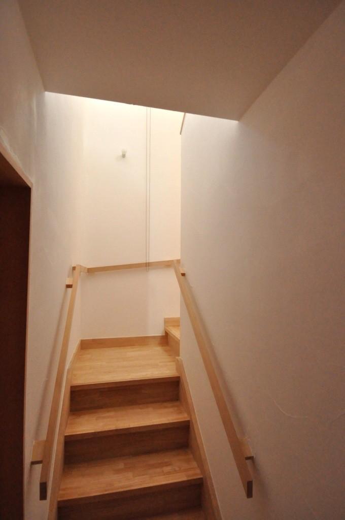 バリアフリー3世帯住居の写真 1.25坪階段