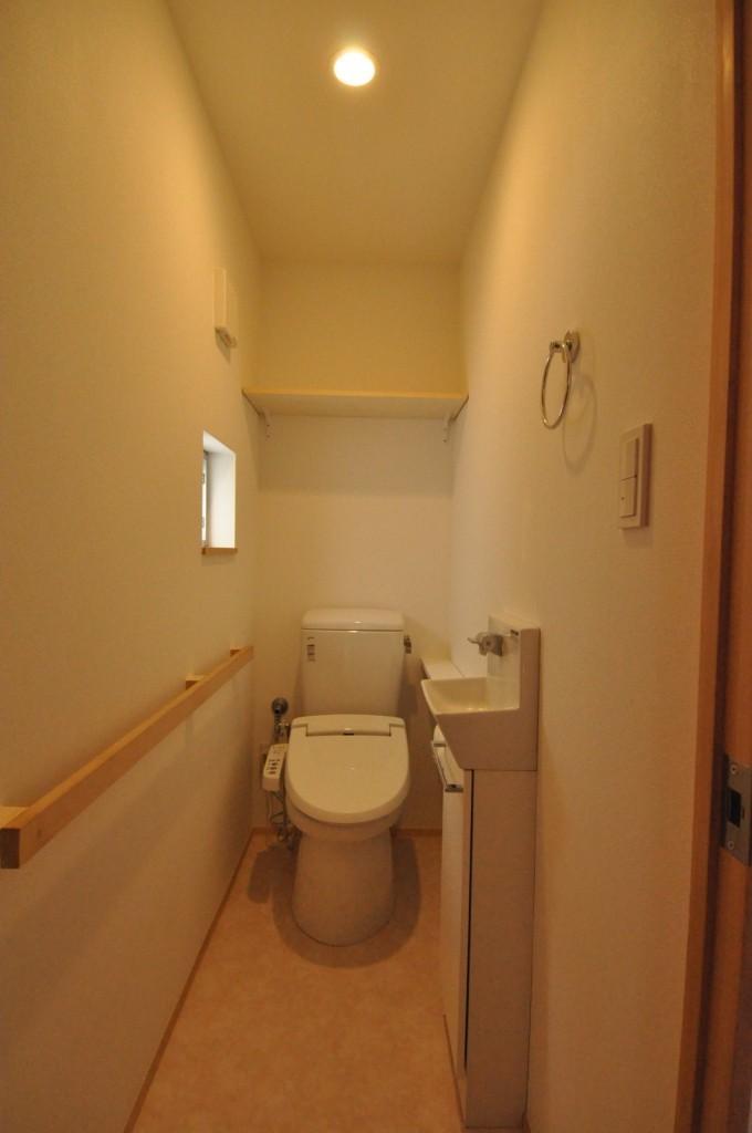 バリアフリー3世帯住居の写真 トイレ