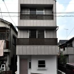 バリアフリー3世帯住居 (外観)