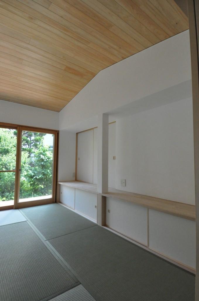 船底天井の家(リフォーム)の部屋 リビングカウンター