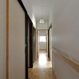 船底天井の家(リフォーム)の写真 廊下
